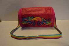 My Little Pony kids girls recycled material handle purse 2014 zip velcro closure #Unknown