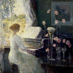 The Sonata, 1911, Frederick Childe Hassam