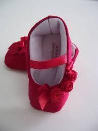 Resultado de imagem para sapatinhos de tecido vermelho