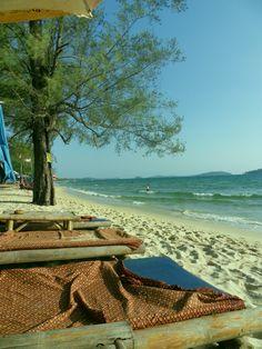 Ochheuteal Beach, Cambodia