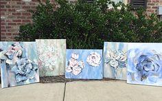 Flower Series pieces! >>Follow me on Insta<<