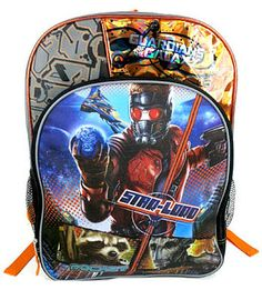 Guardians of the Galaxy Back Pack from Toys r Us - #Disney #Marvel #GuardiansOfTheGalaxy #BackPack #DisneySide