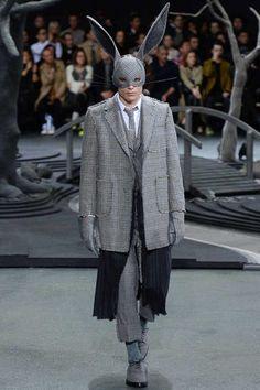 Thom Browne FallWinter 2014 - Paris Fashion Week