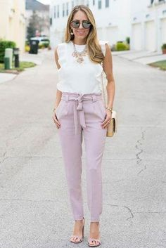 42 Casual Spring Work Outfits Ideas for Women - Wass Sell - Summer Work Outfits Casual Work Outfit Summer, Cute Work Outfits, Spring Work Outfits, Work Casual, Summer Office Outfits, Outfit Work, Summer Work Clothes, Casual Office, Office Chic