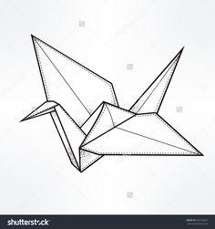 origami crane - Google Search