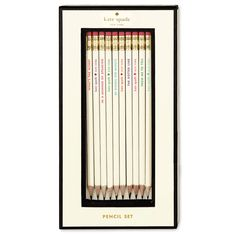 kate spade new york pencil set - what's the word...Idiom Word set...Spring 2015  $20.00