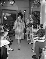 06 July 1961 Fashion Show: Irene Gilbert Autumn/Winter Collection. Irish Fashion, Fall Winter, Autumn, Photo Archive, Winter Collection, Irene, Old Photos, Fashion Show, Old Pictures