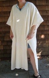 Tutorial: Long towel poncho cover-up – Sewing
