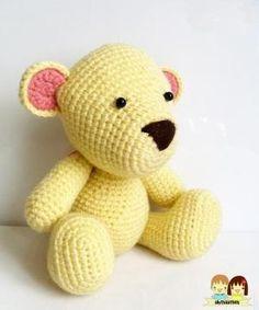 Mr.Teddy Amigurumi Pattern by Lorelei_m