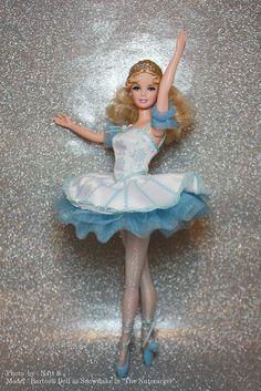 "Barbie® Doll as Snowflake in ""The Nutcracker"""