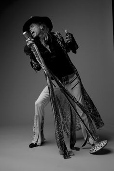 Steven Tyler of Aerosmith by Robert Maxwell. Can hear his voice just looking at this photo!