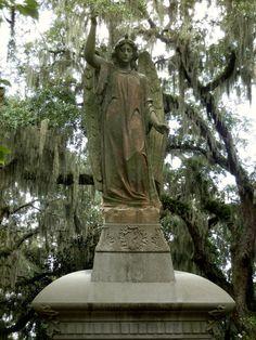 Bonaventure cemetery Savannah GA.