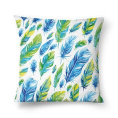 Almofada PAINT FEATHERS de jefersoncalongana #colab55. Tags: penas indians cores pincel Sofa Cushions, Pillows, Feathers, Tapestry, Tags, Painting, Home Decor, Throw Pillows, Art