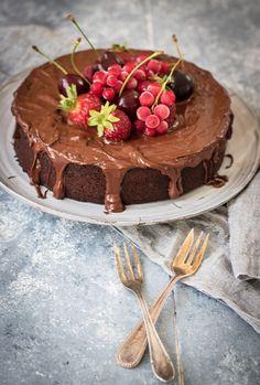 saftiger Schokoladenkuchen einfach lecker - Jokihu.de