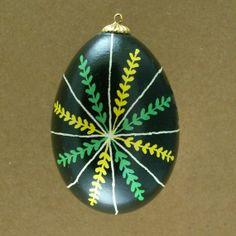 Pysanky Ukrainian Easter Egg Wheatstar Hand by JustEggsquisite