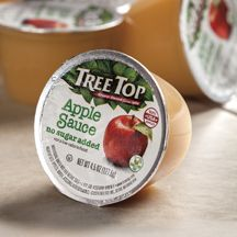 Tree Top is introducing a 4.5-ounce Apple Sauce Cup. Portable fruit is a hallmark of Tree Top's new 4.5-ounce Apple Sauce Cup.