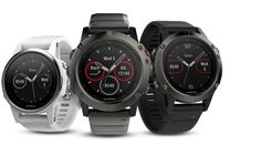 If you're in the market for a new multi-sport GPS watch, I suggest you head on over to Garmin and check out their new release Fenix 5 range.