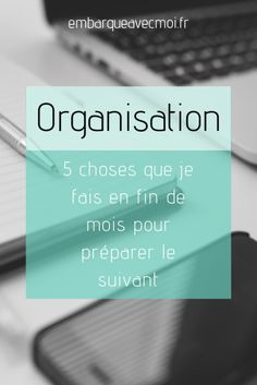Préparer le mois à venir, 5 choses à faire – Embarque avec moi! Busy At Work, Life Organization, Organizing, Getting Organized, Self Help, Mood Boards, Bujo, Budgeting, Finance