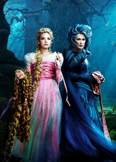 Mackenzie Mauzy & Meryl Streep in 'Into the Woods' (2014).