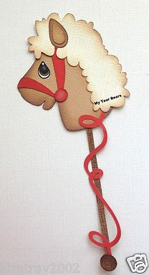 Boy Kids Hobby Stick Horse Paper Piecing by My Tear Bears Kira | eBay