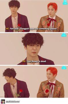 You smooth talker, you... | Yongguk B.A.P