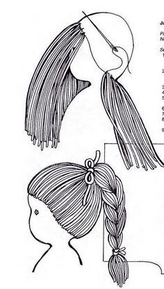 hacer el pelo de una muñeca Más