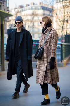 Before Lemaire Street Style Street Fashion Streetsnaps by STYLEDUMONDE Street Style Fashion Photography