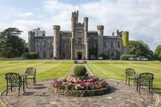Wales' Hensol Castle to reopen as conference venue Welsh Castles, Castles In Wales, Christmas In England, England And Scotland, Beautiful Buildings, Great Britain, Wonderful Places, Places To Visit, Around The Worlds