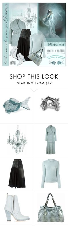 """""""PISCES"""" by struga-art-80 ❤ liked on Polyvore featuring IMAX Corporation, Bling Jewelry, AF Lighting, Emilia Wickstead, Yohji Yamamoto, Dondup, Acne Studios, Versace and whatsyoursign"""