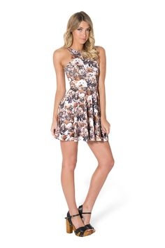 Show Me Your Puppies Reversible Skater Dress (USA LIMITED/WORLDWIDE 48HR) by Black Milk Clothing $85AUD ($80USD)