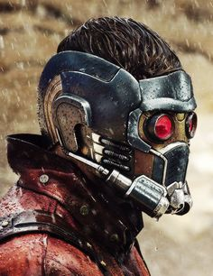 a-bunch-of-aholes: Chris Pratt: first day of filming as Star—Lord for GotG