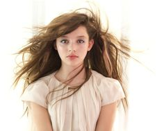 Lamantine spring/summer 2014 soft pastel styling worn by Curfew actor Fatima Ptacek