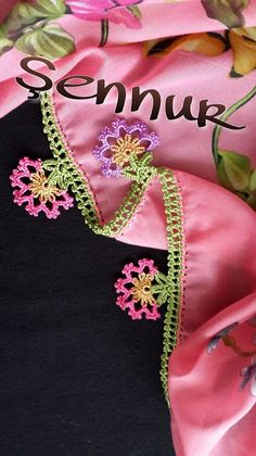This post was discovered by HU Crochet Projects, Tatting, Diy And Crafts, Lace, Clothes, Fashion, Crochet Flowers, Crochet Stitches, Dish Towels