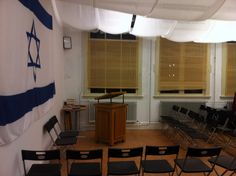 Beth Midrash Ohel Abraham in Rotterdam, the Netherlands.