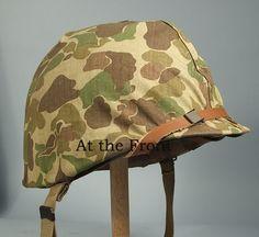 WWII Marine Pacific Helmet