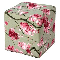 Cypress Ottoman....add some charm to your garden!