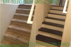 How To Change Carpeted Stairs To Wooden Ones