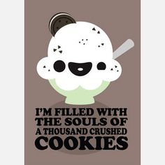 Cookies And Cream 12x17 by Kawaii Not $14.00 now featured on Fab.