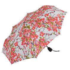 Vera Brushed Blossoms Umbrella - Umbrellas - Totes & Accessories - The Met Store Colorful Umbrellas, Umbrellas Parasols, Umbrella Painting, I Love Rain, Spring Shower, Under My Umbrella, Singing In The Rain, Girls Wardrobe, Museum Collection