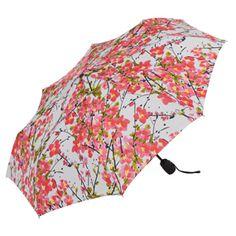 Vera Brushed Blossoms Umbrella - Umbrellas - Totes & Accessories - The Met Store Colorful Umbrellas, Umbrellas Parasols, Umbrella Painting, I Love Rain, Spring Shower, Under My Umbrella, Singing In The Rain, Girls Wardrobe, Museum Collection