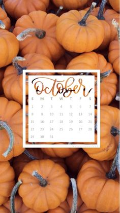 October 2017 wallpaper calendar