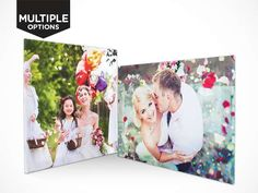 Choice of Personalised Photo Canvas Photo Canvas, Polaroid Film, City, Cities