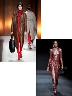 3 Color Trends from Fashion Month We're Translating to Interior Design - DIY Red Photography, 2020 Fashion Trends, Design Color, Ulla Johnson, Fashion Colours, Carolina Herrera, Chocolate Brown, Color Trends, Looks Great