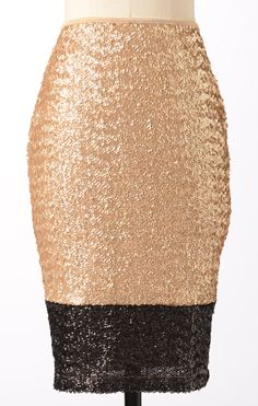 Karat Skirt, so affordable and would be great for NYE!