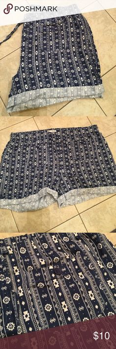 Linen Blend Shorts Very comfy! Dress up or down! Styleme Shorts