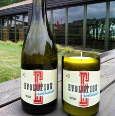 Evolution | Wine Candles! What a great idea for a Mothers Day Gift!