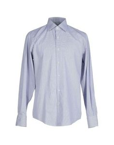 Shirts by Nazareno Gabrielli, Men's, Size: 17, Blue