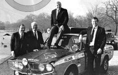 1968 London-Sydney: Andrew Cowan, Hillman Hunter GT, winner with Paddy Hopkirk, BMC Rally Car, Marathon, Sydney, Porsche, Monster Trucks, London, Group, Cars, Classic