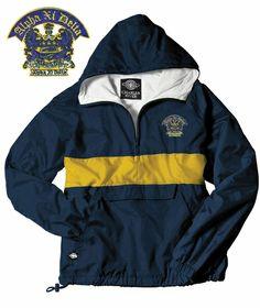 Alpha Xi Delta Anorak (I love this jacket!)