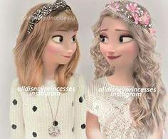 elsa, disney, and frozen image - Mara E. Disney Princess Fashion, Disney Princess Drawings, Disney Princess Pictures, Disney Pictures, Disney Drawings, Disney Princesses, Hipster Princess, Disney Princess Cartoons, Drawing Disney